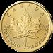 Maple Leaf 1/10 Unze Gold