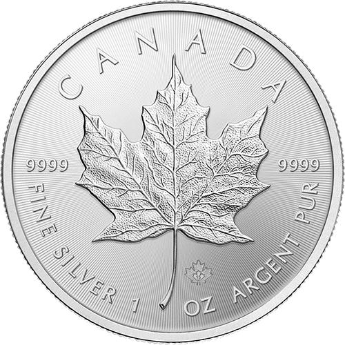 Maple Leaf 1 Unze Silber