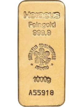 Goldbarren 1000 Gramm