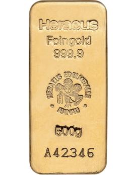 Goldbarren 500 Gramm
