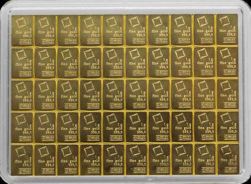 goldbarren 50 g tafelbarren gold robbe berking. Black Bedroom Furniture Sets. Home Design Ideas