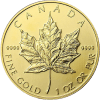 Maple Leaf 1 Unze Gold