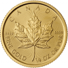 Maple Leaf 1/4 Unze Gold