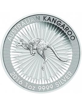 Australian Kangaroo 1oz Silber