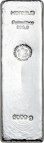 Silberbarren 5000 Gramm